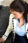 Teen dark hair Dillion Harper receives a ball batter subsequently a passionate oral play