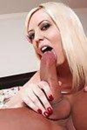 Infant golden-haired Cherry Torn is giving a subterranean cocksucking exclusively for cum