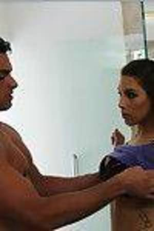 Titsy latin chick doll Natasha Vega obtains her wet crack licked and penetrated hardcore