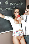 Submissive schoolgirl Gabriella Salvatore gains fixed wazoo bonked by teacher