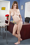 Extreme coed Dillion Carter proposes her gorgeous naked body on webcam