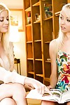 Fresh chicks blondes Sierra Nevada and Charlotte Stokely are having loved sex