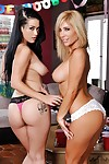 Katrina Jade and Tasha Reign are tow completely perverted schoolgirls