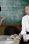 Raunchy coed Evi Fox accepts bonked by her educator in the classroom