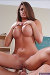 Glamorous college whore Madelyn Marie taking in and riding bulging pride