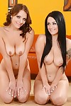 Fabulous 2 lasses Katrina and Kayla are 2 just right female-on-female cuties