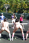 Lesbians are having some satisfaction on the tennis court have benefit from all the time