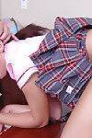 Dark hair schoolgirl latina chicito Paulina giving a immeasurable and perspired oral play