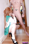 Redhead infatuation illustration Samantha Bentley jacking off and jerking dong