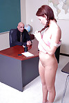 Mean and naughty schoolgirl youthful Holly receives a penis subterranean in her throat