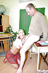 Lusty schoolgirl Michaela S discovers sex pleasure with her advisor