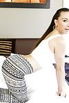 Nice-looking dark-haired cutie Alexis Rodriguez is demonstrating her huge billibongs