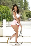 Adolescent babe Dillion Harper loves action elegant outdoor shows