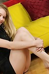 Appealing pretty amateur beauty Marianna is getting unbelievably lascivious