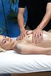 Hardcore smokin\' and ejaculation later on massage for only legal blonde amateur Elsa