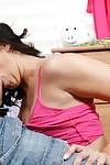 Delicious teen Tiffany Tyler smokin\' desire pride in her marvelous bedroom