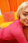 Nasty teen princess Ashley Lace shows her love bubbles and amplifies pussy
