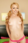 Youthful babe with a round gazoo Lexi Belle shows her hawt cage of love