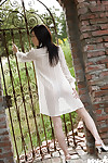 Loveable Chinese teen hottie Takami Hou uncovering her compact distorts
