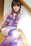 Petite eastern adolescent with agreeable wazoo striptease all of her clothing