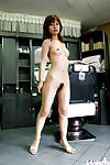 Stunning Chinese hottie An Nanba showcasing her fuckable body