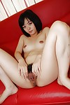 Saucy oriental youthful Haruka Okubo acquires unclothed and has some bawdy cleft fingering getting pleasure
