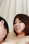 Large asian amateur accepts her hirsute pussy vibed and cocked up heavy