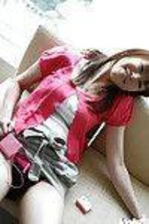 Teen-age Japanese gal slowly uncovering her undersize crooks