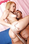Teen babe Kirra Lynn has hot interracial sex with a meaty dick