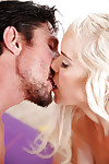 Juicy teens Halle Von and Marry Lynn have a threesome with a hung stud