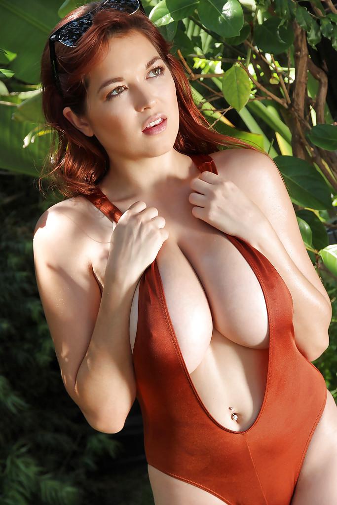 Big tit redheads