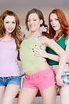 Lexi belle dani and ashlynn argue who will be the number 1 to engulf and fuck massive pi
