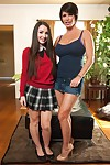 Stepmother and daughter subjection banging dream with shay fox and lola foxx