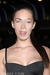 Teen celeb megan fox takes ebon weenie in butthole