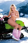 A ski trip that bends over into a extreme gangbang on the mountain Master